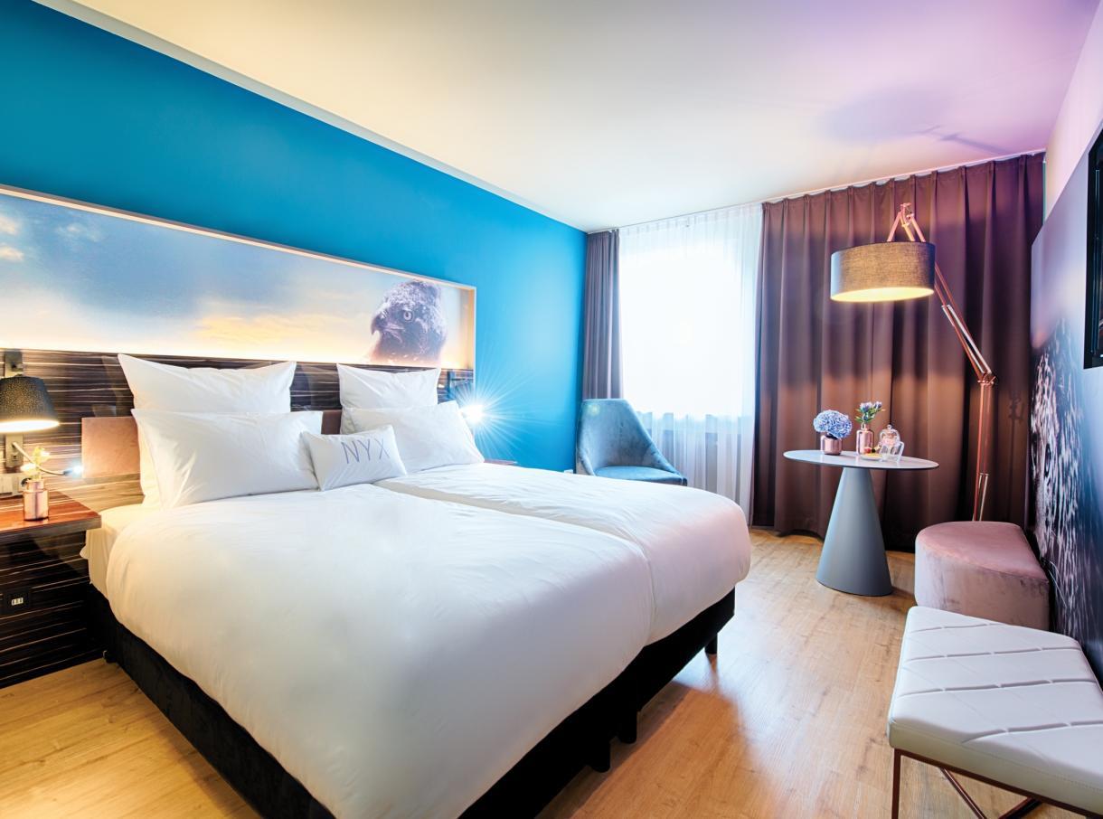 Nyx hotel mannheim tagungshotel in mannheim aloom for Designhotel mannheim